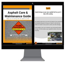 asphalt care and main lp graphic